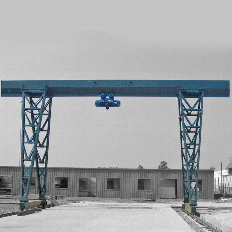 Industrial customized outdoor single beam gantry crane