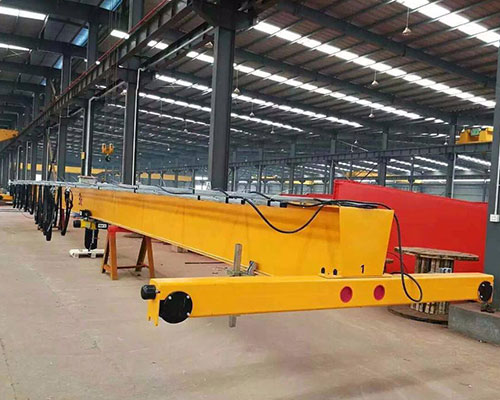 European electric single beam bridge crane