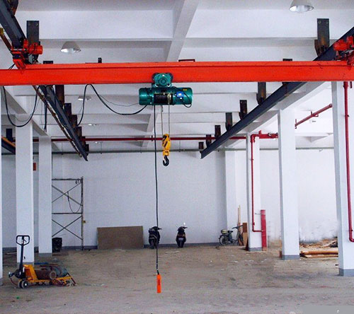 Structural features and installation steps of Single beam suspension crane