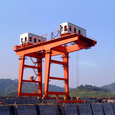 Hydropower station gantry crane