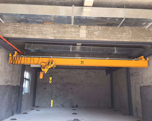 Single beam crane procurement considerations