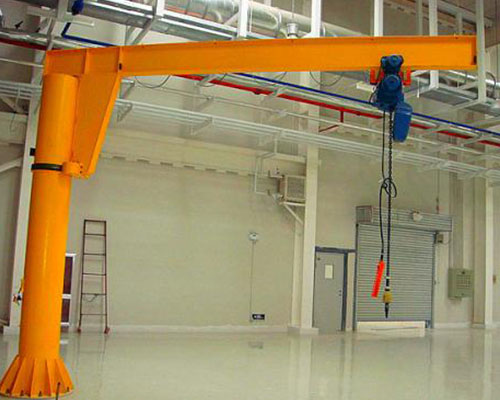 European mobile jib crane and mobile jib crane difference