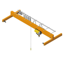 New type eot single girder bridge crane 1-32ton