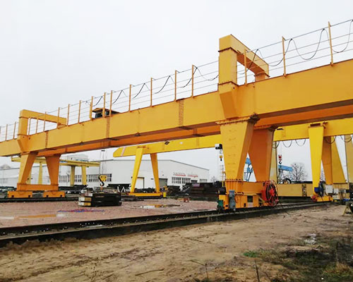 Polish customer gantry crane site installation is coming!