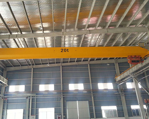 Single beam overhead crane overload operation will cause harm