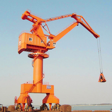 Rail Mounted Floating Dock Sea Port Portal Crane