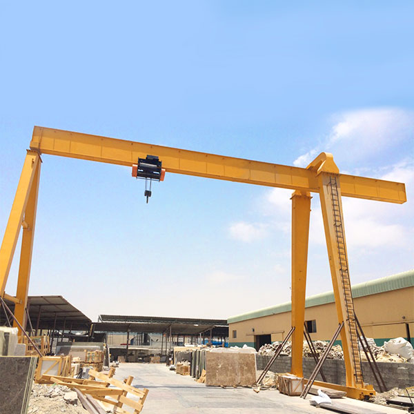 single girder workshop gantry crane price