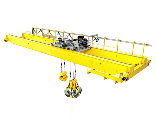 What are the advantages of grab overhead crane in taking things